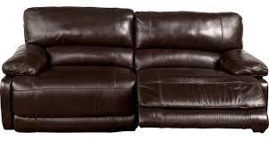cindy crawford home alpen ridge reclining sofa 1 099 99 auburn hills brown leather reclining sofa contemporary