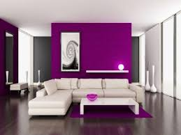 purple and grey living room ideas wooden side table plain curtain