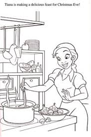 tiana naveen coloring pages media scans movie