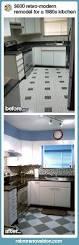 Rustoleum Cabinet Transformations On Melamine Susan Transforms Her 1980s Kitchen For 600 Retro Renovation