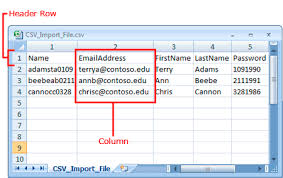 csv format outlook import prepare a csv file to import new exchange online users