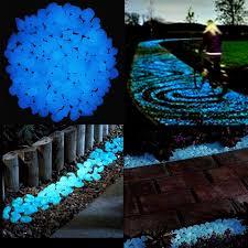 amazon com 200pcs glow in the dark pebbles surlight glow stones