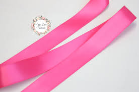 pink satin ribbon pink ribbon hot pink ribbon 7 8 inch faced satin 5