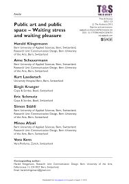 hochschule mã nchen design and space waiting stress and waiting pleasure