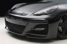 matte black porsche panamera porsche panamera by wald international freshness mag