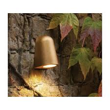 Antique Brass Outdoor Wall Lights by Astro Lighting Outdoor Ip65 Wall Light In Antique Brass Finish