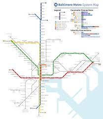 Seattle Rail Map by Baltimore Subway Transit Fantasy Map Here U0027s A Map Of The