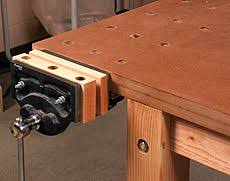 Wooden Bench Vise Plans by Jay Bates End Vise For Paulk Style Workbench Link For Plans