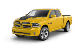 dodge sports car ram announces 1500 sport in stinger yellow u2013 news u2013 car and driver