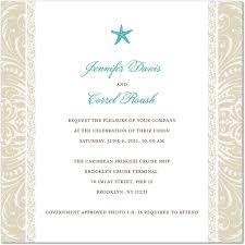 cruise wedding invitations cruise wedding invitation wording uc918 info