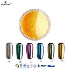fengshangmei nail art supplier nail polish pigment sale mirror