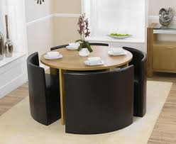 space saver table set dining table round space saving dining table and chairs table