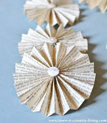 how to make fans how to make a paper fan garland town country living