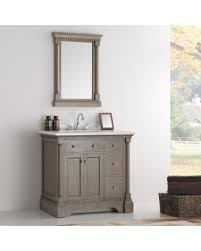 Traditional Bathroom Vanities by Amazing Deal On Fresca Kingston Antique Silver 36 Inch Traditional