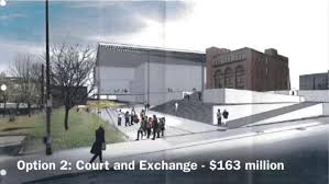 performing arts center study eyes midtown river site