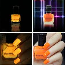 dream books environmental protection fluorescent nail polish