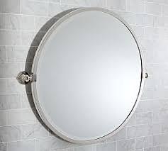 Chrome Bathroom Mirrors by Bathroom Vanity Mirrors Pottery Barn