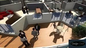 3d isometric floor plan rendering architectural walkthrough by