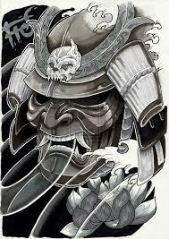 samurai helmet tattoo tatuagens de samurai 42 1 pinterest