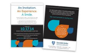 open house invitation open house invitations dental marketing portfolio gpm