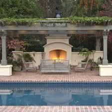 Pool Cabana Integrates With Pool And Fence A Girl Can Dream Can - Backyard oasis designs