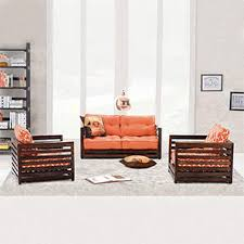 raymond low wooden sofa 3 seater urban ladder