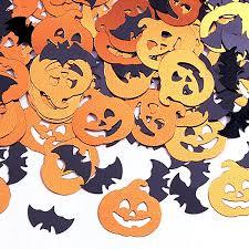 amazon com bats u0026 pumpkin confetti toys u0026 games
