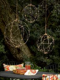 wire sphere battery operated led lights gardeners