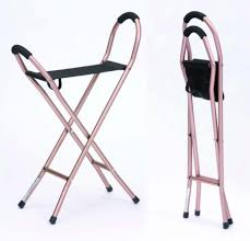 Walking Stick Chair Sling Seat Walking Stick Willaid Health Care Equipment