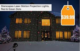 christmas motion light projector starscapes laser motion projection lights red green dots 39 99