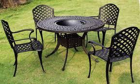 impressive outdoor metal furniture outdoor metal patio furniture