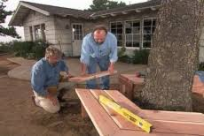 how to build a bench around a tree u2022 diy projects u0026 videos