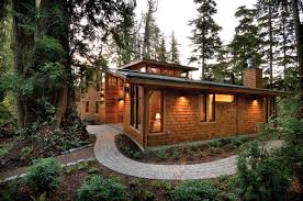 cedar landscape timbers west coast style modern cedar timber cottage on vancouver island