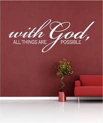 Scripture Wall Decals For Nursery Scripture Wall Decals For Nursery Scripture Wall God All Things