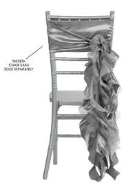 silver chair sashes curly willow chair sashes silver the cinderella house chair