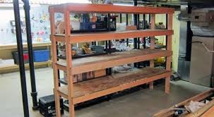 Build A Simple Wood Shelf Unit by 20 Making Wood Shelves Build Wooden Storage Shelves Basement