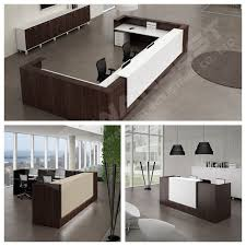 White Curved Reception Desk 2017 Morden Design Artificial Marble Curved White Office Reception