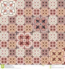 retro floor tiles pattern stock vector image 62870523