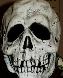 halloween skeleton masks spook spotter don post studios halloween iii silver shamrock