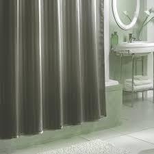 Grey Shower Curtains Fabric Curtains Hookless Shower Curtain Walmart For Elegant Bathroom