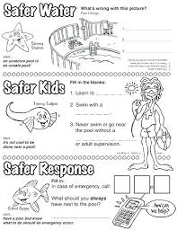 coloring pages water safety water safety coloring pages water safety coloring pages plus summer