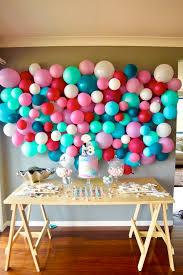 wall decoration ideas for birthday home decor arrangement ideas