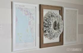 Diy World Map by Diy Map Art Give Your Walls A Coastal Look In 10 Minutes City