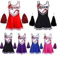 Dead Cheerleader Halloween Costume Zombie Cheerleader Women U0027s Fancy Dress Ebay