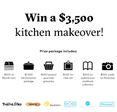 Win A Free Kitchen Makeover - kitchen makeover 2016 tasting table