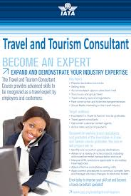 how to become a travel agent images Iata travel and tourism consultant become an expert study at jpg