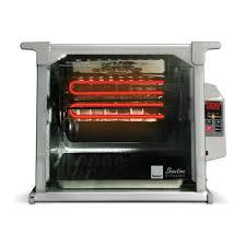 cuisine design rotissoire ronco showtime digital rotisserie and bbq oven platinum edition