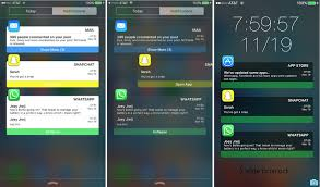 customize the ios notification center with this tweak the iphone faq