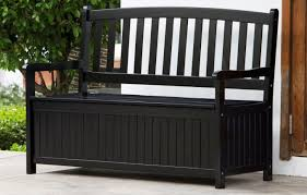 Patio Cushion Storage Bin by Bench Outdoor Storage Benches For Seating Creativity Awesome