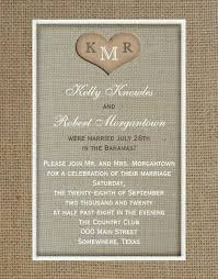 wedding reception invitation 21 beautiful at home wedding reception invitations destination